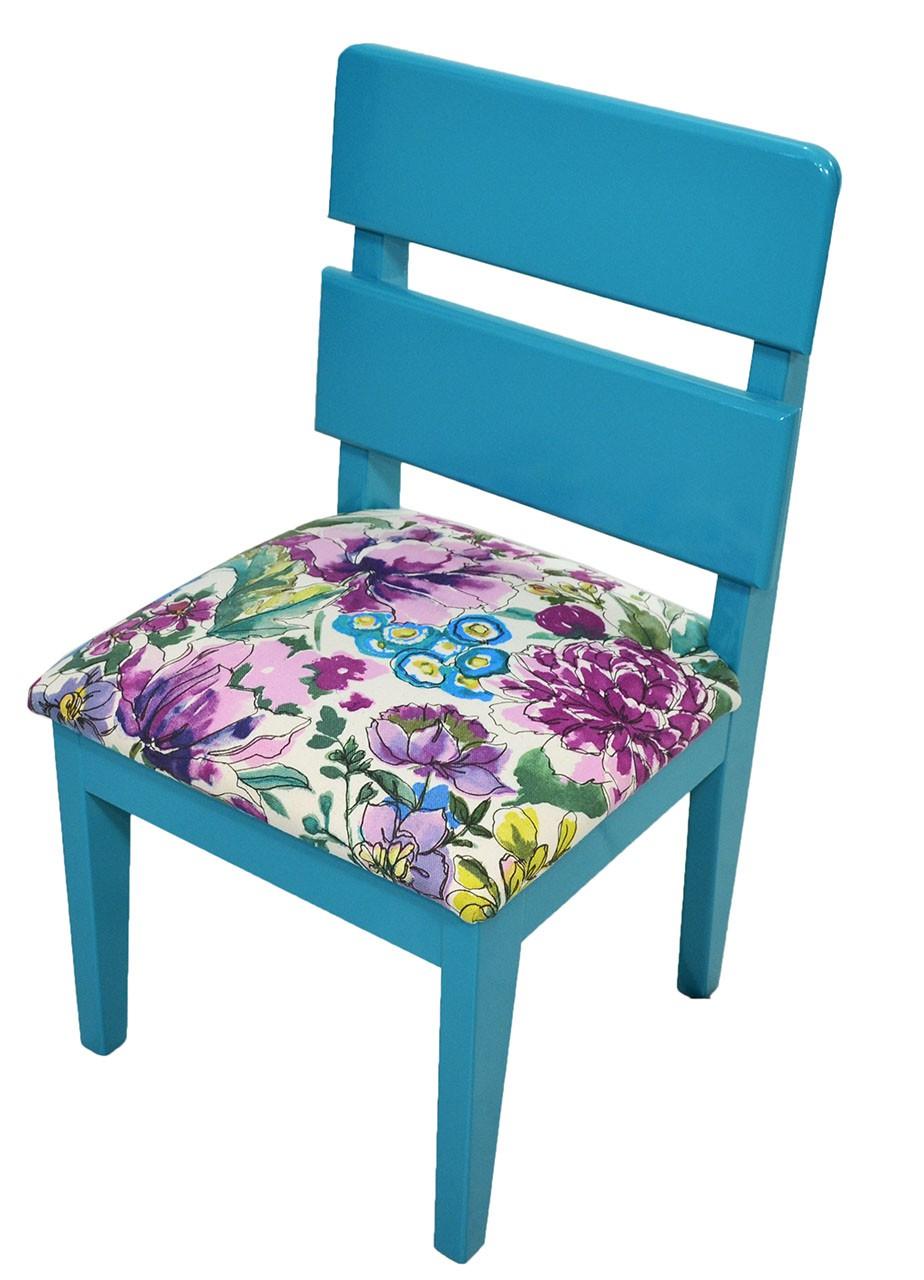 Mini Cadeira Infantil - Azul Turquesa