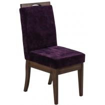 Cadeira Komfort - Capuccino e Roxo + Opções