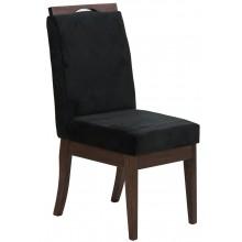 Cadeira Komfort - Verniz Capuccino e Preto + Opções