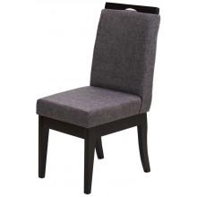 Cadeira Komfort - Preto e Linho Cinza + Opções