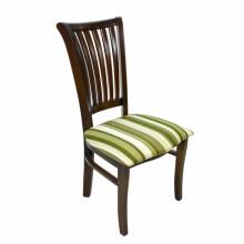 Cadeira Plaza I Capuccino Verde Listrado