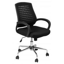 Cadeira Presidente Rimini Giratória - Preta