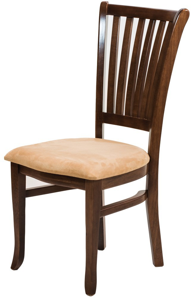 Cadeira Plaza I Pinhão e Creme