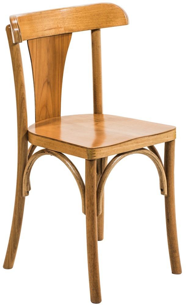 Cadeira Restaurante 2 - Verniz Natural