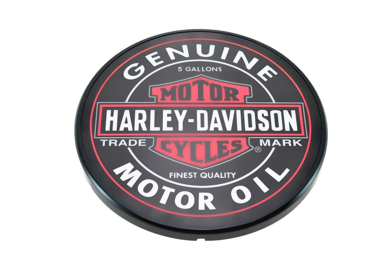 Luminoso Led - Harley Davidson - Preto
