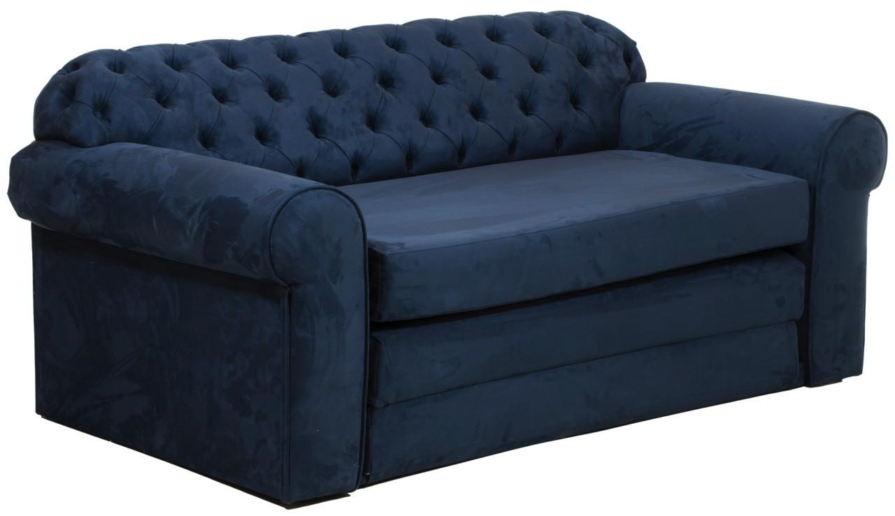 sof cama 2 lugares com capiton azul petr leo. Black Bedroom Furniture Sets. Home Design Ideas