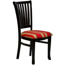Cadeira Plaza Preta e Vermelha