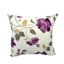 Almofada Floral Ramo Lilás - 3 Opções de Tamanho