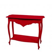 Aparador Colorido Entalhado I - Vermelho