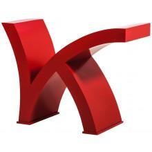 Base de Mesa K Vermelha + Cores