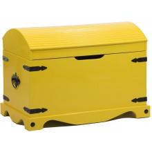 Baú com Tampo Curvo Amarelo + Cores