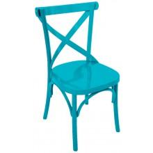 Cadeira Anatômica X - Azul Turquesa