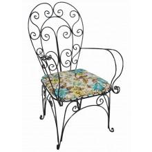 Cadeira em Ferro Florenzi - Preta