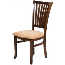 Cadeira Plaza - Pinhão e Creme
