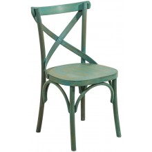 Cadeira Anatômica X - Azul Demolição
