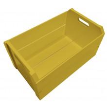 Caixote Colorido Grande - Amarelo