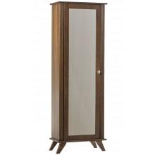Estante 5 Prateleiras com Porta e Espelho Capuccino + Cores