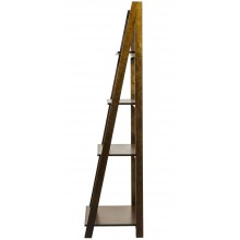 Estante Escada 4 Prateleiras Capuccino + Cores