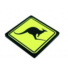 Luminoso Led - Canguru Australia - Preto