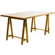 Mesa Cavalete - Dourada