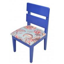 Mini Cadeira Infantil - Azul Anil