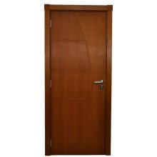 Porta Interna Frisada - Madeira Natural - 60, 70 ou 80cm
