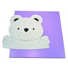 Quadro Infantil 3D - Ursinho